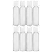 MoYo Natural Labs 60ml Travel Bottles, TSA Approved Empty Travel Containers with Disc Caps, BPA Free HDPE Plastic Squeezable Toiletry/Cosmetic Bottle