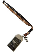 Harry Potter Solemnly Swear Lanyard ID Badge Holder Collectible Sticker & PVC Charm