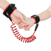 SHDIBA Child Anti Lost Hook and loop Wrist Link Flexible Safety Harness Strap Protect Your Toddlers, Babies & Kids