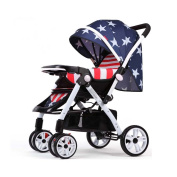 TIANG-Fold Umbrella Stroller Baby Trend Sit N Stand Strollers