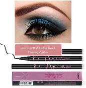 New Designed Eyeliner, Enhanced Liquid Eyeliner, Waterproof Sweat Resist Precise Outline,Non-Core High Sealing Liquid, Charming Eyeliner Deep your Eyes