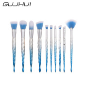 Owill Women Girls Barb Thread Make Up Brushes Set Face Concealer Foundation Powder Tools