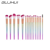Owill 16Pcs Blending Pencil Foundation Eye Shadow Face Lip Makeup Brushes