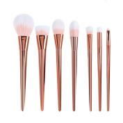 U-beauty 7Pcs Set Professional Cosmetic Brush High Brushes Set Make Up Blush Brushes Makeup Brush
