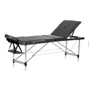 Water-chestnut Portable Folding Massage Table 3 Fold Aluminium Alloy Frame