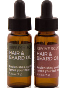 Ora's Amazing Herbal Natural Beard Oil, Leave In Beard Conditioner and Men's Face Moisturiser Serum with Argan Oil, Organic Rosehip Seed Oil, Jojoba Oil, non GMO Grapeseed Oil