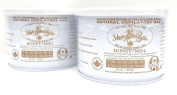 Sharonelle Natural Soft All Purpose Honey Wax in 410ml - 2 cans