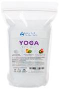 New Yoga Bath Salt 0.9kg (950mls) - Epsom Salt Bath Soak With Grapefruit, Eucalyptus, Lavender, & Jasmine Essential Oils Plus Vitamin C - Perfect Soak For Pre Or Post Yoga Practise