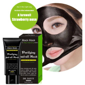 Essy Beauty Active Charcoal Blackhead Remover Mask With Deep Clean Formula Suction Mask