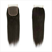 Queen Love Hair 10cm x 10cm Brazilian Straight Lace Closure Natural Colour 100% Virgin Human Hair Free Part Lace Closure 20cm