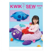 Kwik Sew Childrens Sewing Pattern 4078 Lamb & Dog Ball Pit Floor Cushions