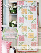 Tablerunner Bliss Quilt Pattern Book by Sherri Falls