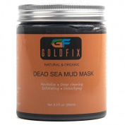 Dead Sea Mud Mask All Natural 100% Organic for Face and Body - Anti-Wrinkle, Pore Refining, Whitening, Anti-Ageing, Pure and Smooth Skin, Spa Treatment - 250ml