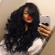 Body Wave Lace Front Human Hair Wigs-Glueless 150% Density Brazilian Virgin Remy Full Lace Wigs with Baby Hair For Black Woman