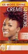 creme of nature exotic shine colour burgundy blaze 6.2