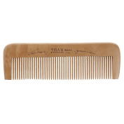 Techinal 6.69cm/17-Inch Natural Anti-Static Wooden Comb, Peach Wood Hair Brushes Fine-tooth Comb for Personal Healthy Care