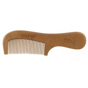 Techinal 18cm/7.09-Inch Anti-Static Wooden Comb, Natural Peach Wood Hair Brushes Fine-tooth Comb with Handle for Personal Healthy Care
