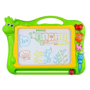 Magnetic Drawing Board,BCMRUN 33cm Drawing Area Erasable Portable Colourful Magna Doodle for Kid Learning Painting