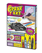 Spray Art Stencil and Felt Tip Refill Set