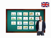 Sports and Action Flashcards - English Vocabulary Cards