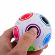 C'est 2017 Pop Rainbow Magic Ball Plastic Cube Twist For Children's Educational Toy Teenagers Adult Stress Reliever
