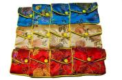 RICISUNG Womens Jewellery Silk Purse Pouch Gift Bags Purse Multicolour