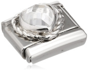 Nomination 330603/010 Cubic Zirconia Stainless Steel Bead