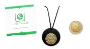 Circle of Life Shungite Pendant Necklace Natural Stone Chakra Crystal Healing Energy Karelia Russia