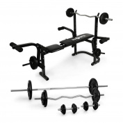 Klarfit Multi Gym Weight Bench Perfect for Training the Core Muscles