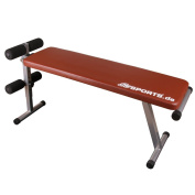 ScSPORTS 1150015 Training Bench Collapsible Red