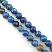 COIRIS 1 Strand 8MM Natural Round Stone Loose Beads Imperial Jasper for Jewellery Making DIY Design