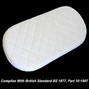 Bluemoon Bedding® Breathable Mattress Fits IZZIWOTNOT Maize Moses Basket Mattress Replacemnet Mattress