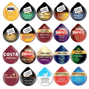 Tassimo Coffee T-discs - Pods Capsules 4 Or 8 Cups - 30 Flavours To Select From