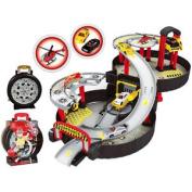 2 Storey Portable City Car Park Auto Parking Garage Cars Truck Play Set Toy