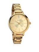 Ladies Champagne Dial Gold Bracelet Watch442913899