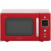 Daewoo Kor7lbkr Retro Style 800 Watt Microwave Free Standing Red New From Ao