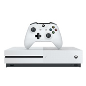 Microsoft X Box One S 1tb Console In White Including Gears Of War 4