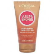 Loreal Sublime Bronze Self Tanning Fresh Feel Gel 150ml