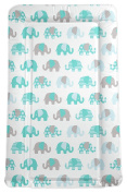 My Babiie Billie Faiers Turquoise Elephant Changing Mat. From Argos On