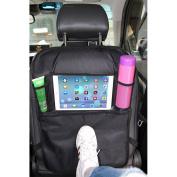 Car BackSeat Organiser for Baby Kids with Ipad Holder ,MLOVESIE Travel Storage Protectors for Kids Toys Bottles Tissue Box Cellphone IPad Tablet Umbrella