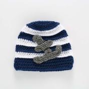 Toddler Winter Warm Hat ,Sunbona Infant Newborn Wool Striped Warm Cute Knit Crochet Hairball Beanie Cap