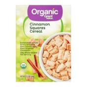 Great Value Organic Cinnamon Squares Cereal, 3610ml