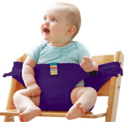 Ying Te Kai Portable Baby Safety Seat Belt Baby Travel Chair Carrier Security Baby Dining Lunch Harness Kid Chair Feeding Seat Chair