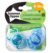 Closer To Nature Any Time Soother Twin Pack -6-18m
