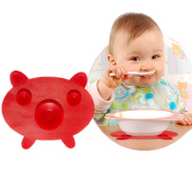 Multifunctional Creative Silicone Placemat, Designed for the Baby Design of the New Cartoon Pig Silicone Mat, Insulated and Non-slip Mats, Coffee Coasters, Food Grade Silicone Material.