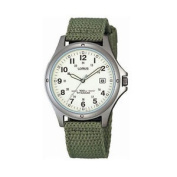 New Rxd425l8 Lorus Gents Military Style Titanium Webbing Strap Watch