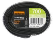Halfords Presta Type Valve Bike Inner Tube - 700c X 23-32c / 40mm X 54mm X 559mm