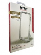 Genuine Tech21 Evo Band Bumper Case Clear / White - Iphone 6 Iphone 6s