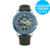 Accurist Men's Blue Dial Analogue Digital Watch -from The Argos Shop On