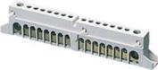 Gewiss Gw40401 - 8 Way Insulated Neutral & Earth Terminal Block